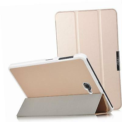 IVSO Slim Smart Cover Case for Samsung Galaxy tab A 10.1 2016 (Gold)