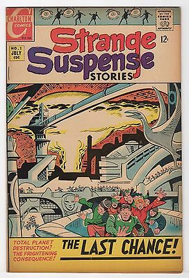Strange Suspense Stories #2    (Charlton Comics 1967)   FN/VFN