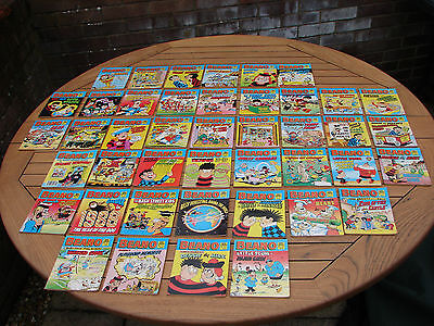 Beano Comic Libraries Job Lot Collection 43 Excellent Condition GSP