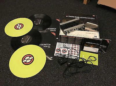 Traktor Scratch Pro 2 + Audio 10 DJ (A10) + Control Vinyl and CDs