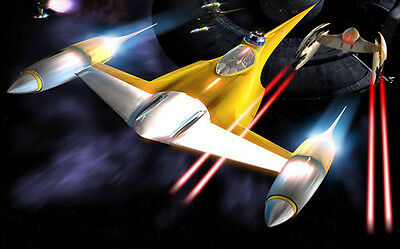 Star Wars Starfighter Home Decor HD Canvas Print wall art painting NO FrameFj397
