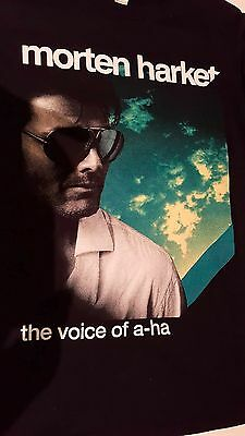 collection Morten Harket ,tee shirt  the voice of a-ha