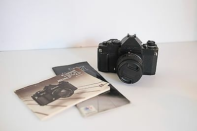 Canon F1-N 35mm SLR Film Camera Body Only
