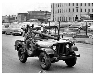 1952 1953 1954 1955 Military Jeep M38A1 ORIGINAL Factory Photo ouc6815