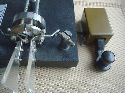Telegraph Schlüssel Morse Key Vintage Military Small CW Key HAM RADIO