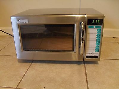 Sharp R-21HT 1000 Watt Commercial Microwave Oven* *NSF Approved* Pristine One!$!
