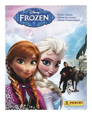 Panini Disney Frozen Stickers Album, New, Unused For Stickers Placement