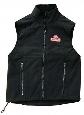 TechNiche 5529S-BK-S ThermaFur Air-Activated Heating Ultra Vest, Small, Black