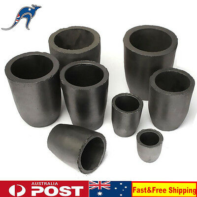 Furnace Casting Foundry Graphite Crucible Melting Tool A6 A8 A12 Jewelry Tool
