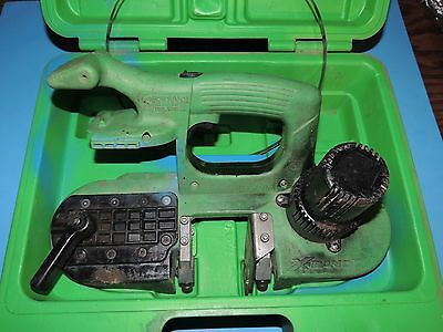 Stout Tool XBand Portable Bandsaw Band Saw with Blade and Case