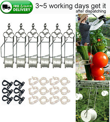 Greenhouse Accessory Trellising Kit Pro Garden Growing Tomato Planting Support
