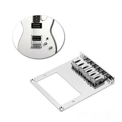 New Tele Electric Guitar Bridge 6 String Square Saddle For Telecaster Guitar
