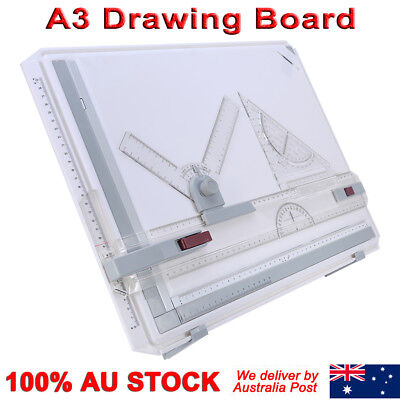 A3 Drawing Board Table with Parallel Motion Adjustable Angle Measuring System