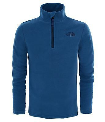 The North Face Junior Youth Glacier 1/4 Zip - Shady Blue