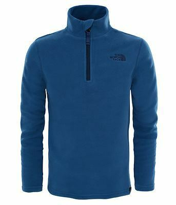 The North Face Junior Youth Glacier 1/4 Zip - XL - Shady Blue