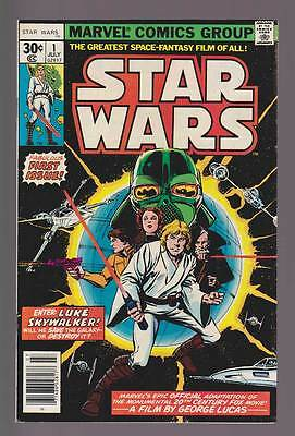 Star Wars # 1  Adaptation of First George Lucas Movie !  grade 8.0 scarce book !