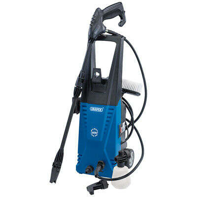 Draper 1700W 135 Bar Pressure Washer Jet Wash Car & Home Garden Cleaner 53511