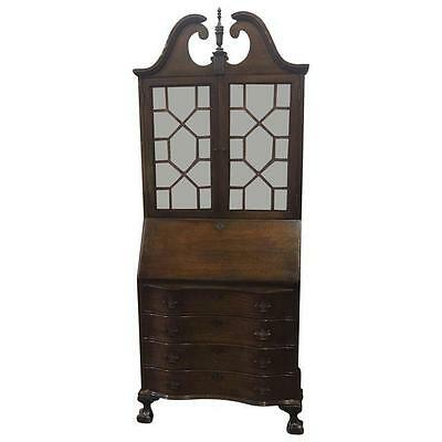 Antique Mahogany Drop Front Secretary Desk Brooklyn NY