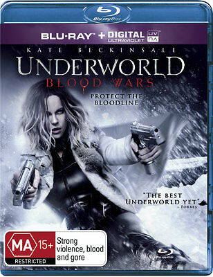 Underworld: Blood Wars (Blu-ray/UV)  - BLU-RAY - NEW Region B
