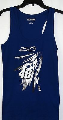 Jimmie Johnson G-III Nascar For Her Ribbed Tank Top