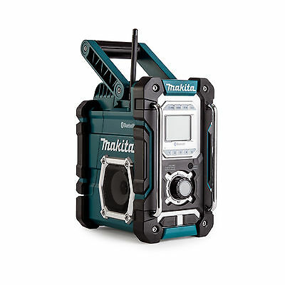 makita dmr 104 w dab digital job site radio in white brand new replaces bmr 104w. Black Bedroom Furniture Sets. Home Design Ideas