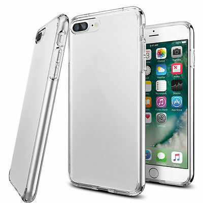 Crystal Clear Transparent Soft TPU Back Cover For iPhone 7 6s 6 Plus Phone Case