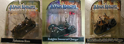 WizKids Mage Knight Chariot-Pack: K.I. Charger + A. Ram + Rebel Wagon (Mint)