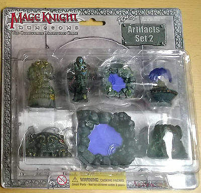 WizKids Mage Knight Dungeons Artifacts Set 2 (Mint, Sealed)