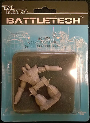 Ral Partha Battletech 20-670 Grand Crusader (Mint, Sealed) *unseen*
