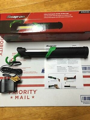 New Snap On Green Super Bright 300 Lumen COB Rechargeable Shop Light