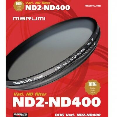 Marumi 52mm DHG ND2-ND400 Variable Neutural Density Filter - DHG52VND