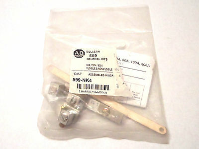 New Allen Bradley 599-NK4 Neutral Kit for 1494H Safety Switches, Bulletin 599