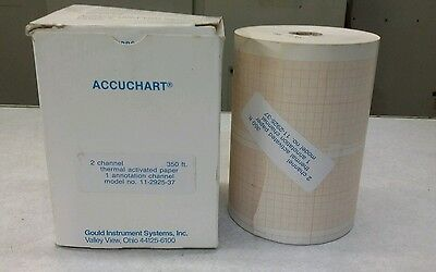 Gould Instrument Systems Thermal Activated Paper 2 channel 350ft NEW