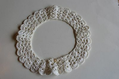 Vintage Crocheted Ladies Collar