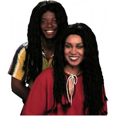Braided Black Wig Costume Accessory Adult Halloween