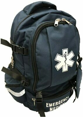 LINE2design Trauma Backpack - EMS First Responder Medical Backpacks - Navy Blue