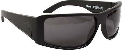 705562ea00 SPY OPTIC COUNCIL Matte Black Gray Polarized Sunglasses -  79.00 ...