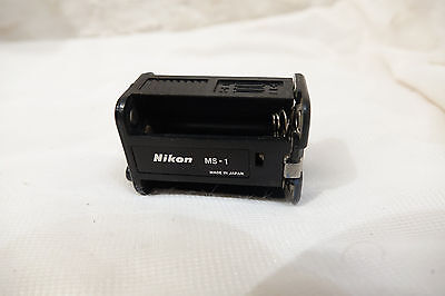 Nikon MS-1 AA battery holder for MB-1 battery pack - Working       MS1