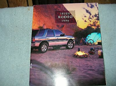 1996 Isuzu Rodeo sales brochure