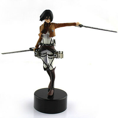 Japaness Anime Shingeki No Kyojin Mikasa Figure Figurine Attack On Titan
