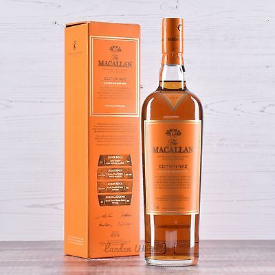 The Macallan Edition No. 2 Rare Limited Release Single Malt Scotch Whisky 48.2%