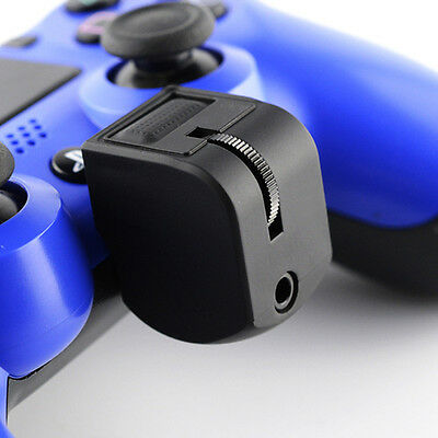 Pro Earphones Headset Mic Adapter for Sony PlayStation 4 PS4 VR Controller