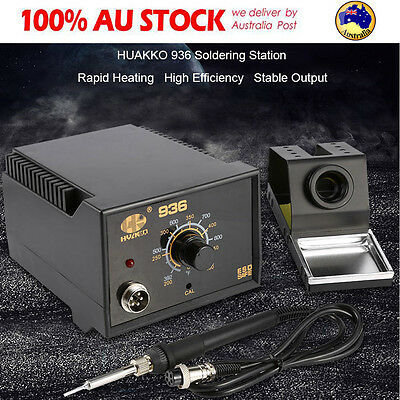 HuaKo 936 ESD 50W Soldering Iron tool welding Soldering Station & CE certs AU