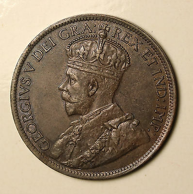 1915 Canada Cent KM# 21 George V aUNC Coin