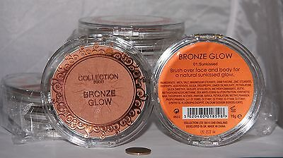 12 x Collection 2000 Bronze Glow | Sunkissed | RRP £50 | Wholesale cosmetics