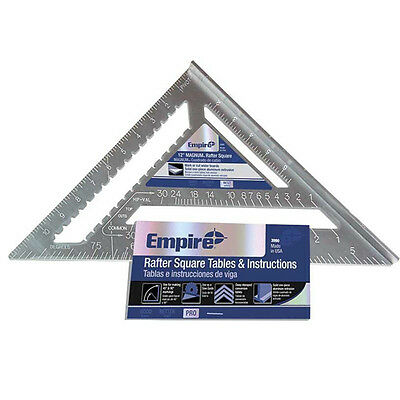 """Empire Rafter Sqaure 12"""" Solid Precision Aluminum Extruded Square"""