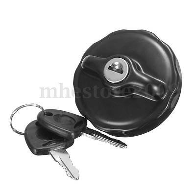 Stainless Steel Locking Fuel Tank Gas Cap & Keys For MG MGB Rover Mini FORD Opel