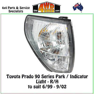 FRONT CORNER PARK INDICATOR LIGHT suits TOYOTA PRADO 90 SERIES R/H DRIVER 99-02