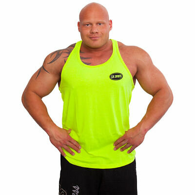 Bodybuildingshirt Trainings-Shirt Fitness-Shirt Tank Top Muskelshirt C.P.Sports
