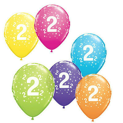 numbered birthday balloons, age one balloon, age 21, various ages, age 100